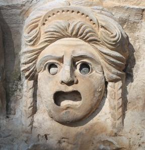 Bajorrelieve del teatro romano de Myra.